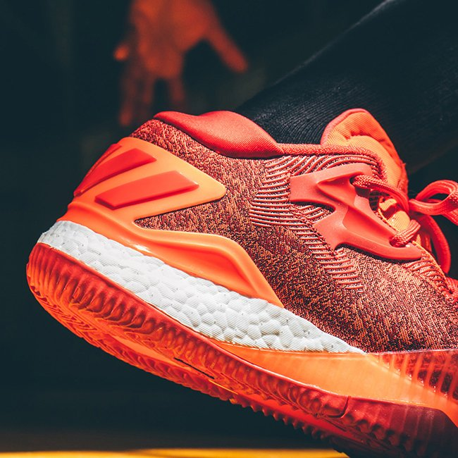 Adidas Crazylight Faible Augmentation 2016 Rouge BXxUjUt