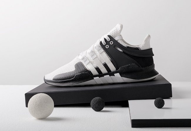 Adidas Men EQT Support 93/17 black core black footwear white Bait