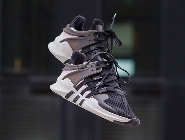 adidas EQT Support ADV Core Black Turbo Red Peugeot Laumer
