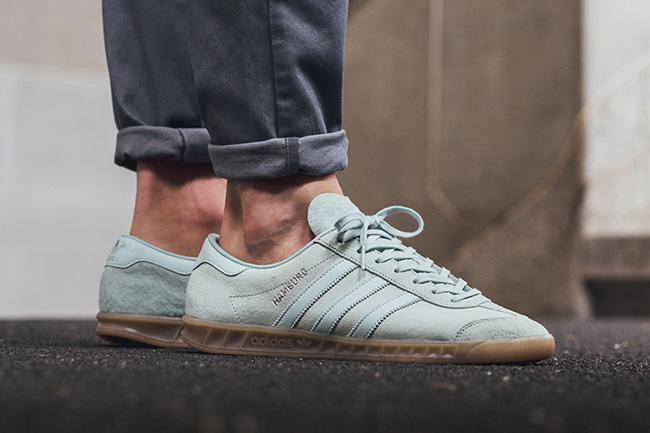 adidas Hamburg Vapour Green | SneakerFiles