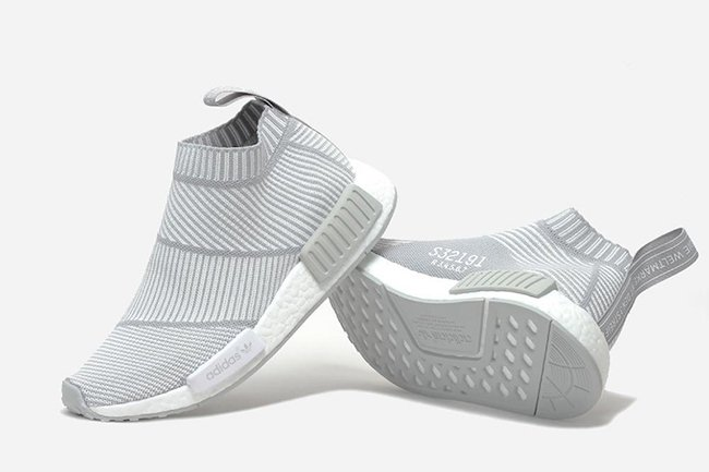 adidas NMD City Sock PK White Grey
