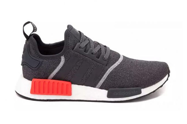 Adidas Nmd Grey With Red