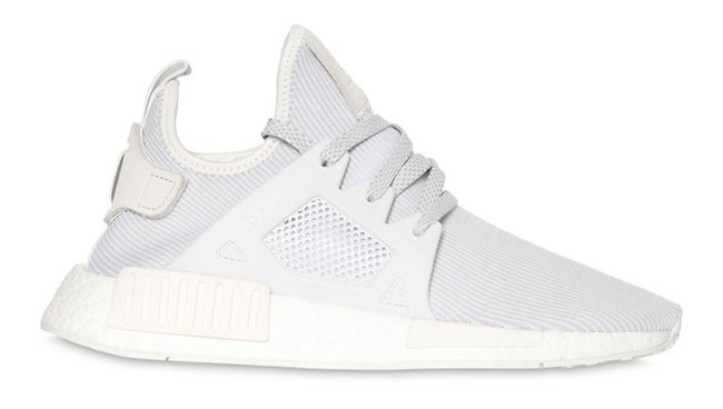 adidas nmd xr1 triple white sneakerfiles. Black Bedroom Furniture Sets. Home Design Ideas