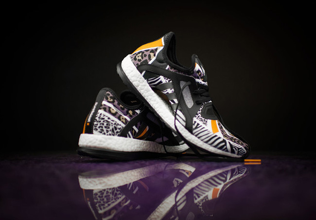 adidas Pure Boost X Animal Safari Print