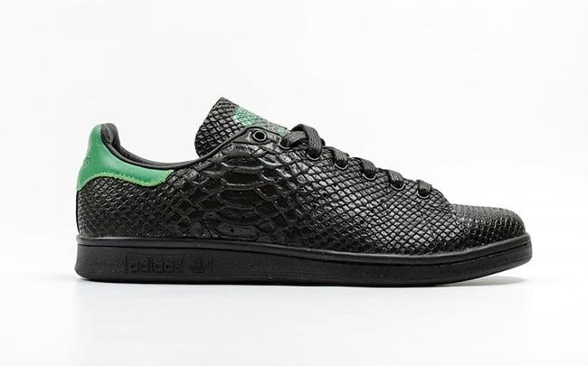 Adidas Stan Smith Black Snake