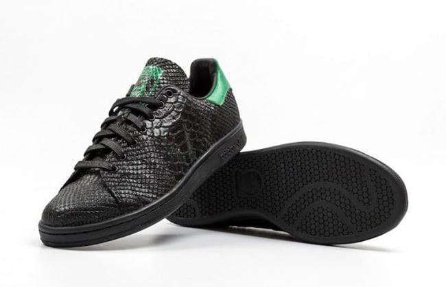 finest selection 01ea8 e55ac adidas Stan Smith Black Snake | SneakerFiles
