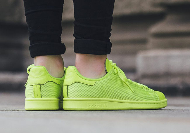 adidas Stan Smith Solar Yellow