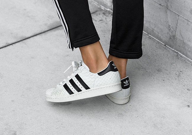 adidas Superstar 80s Snakeskin Womens