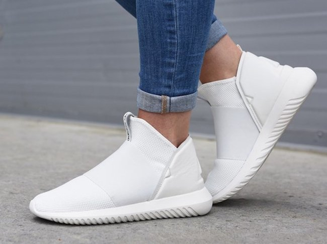 WOMEN'S ADIDAS ORIGINALS TUBULAR DEFIANT WHITE
