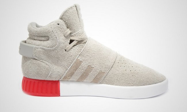 adidas tubular invader strap beige sneakerfiles. Black Bedroom Furniture Sets. Home Design Ideas