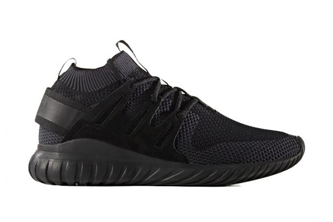 adidas tubular nova primeknit triple black sneakerfiles. Black Bedroom Furniture Sets. Home Design Ideas