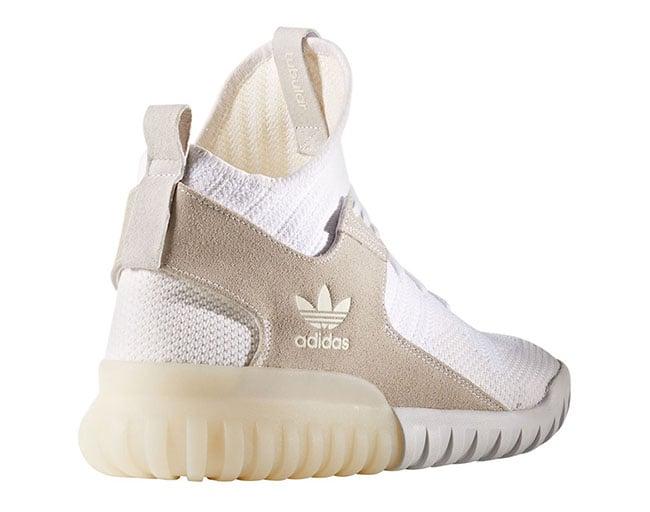 adidas tubular primeknit white