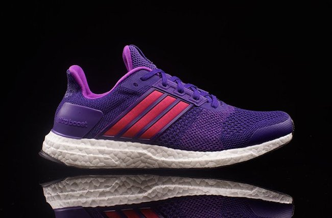 adidas Ultra Boost ST Purple Red