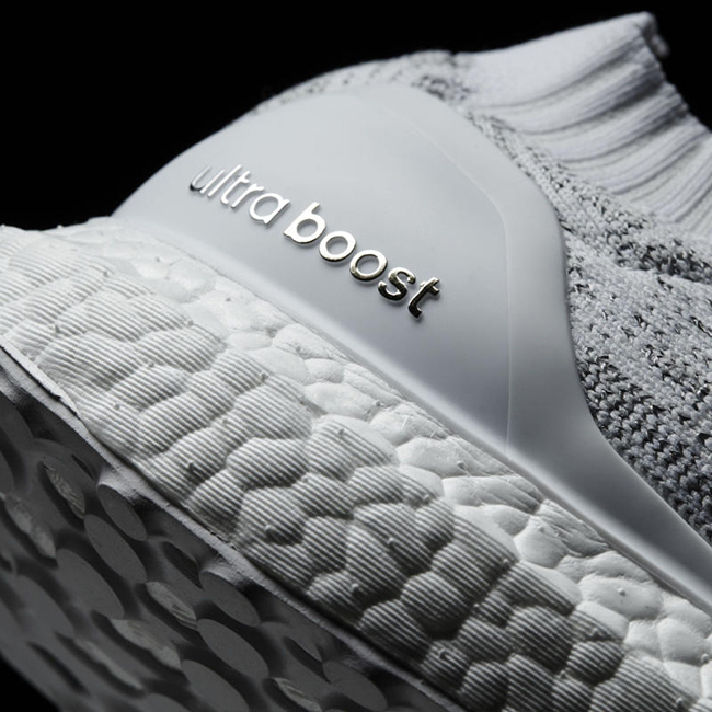 adidas Ultra Boost Uncaged White Grey Silver
