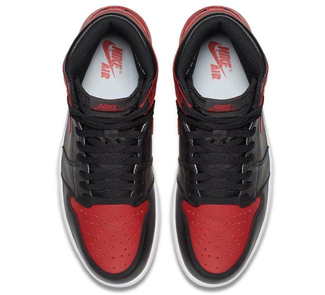 Air Jordan 1 High OG Bred Banned 2016