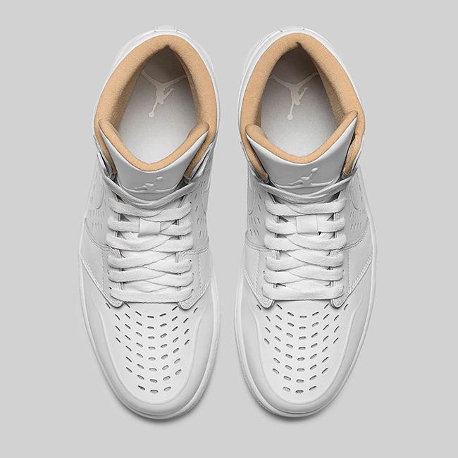 Air Jordan 1 Retro High White Vachetta Tan