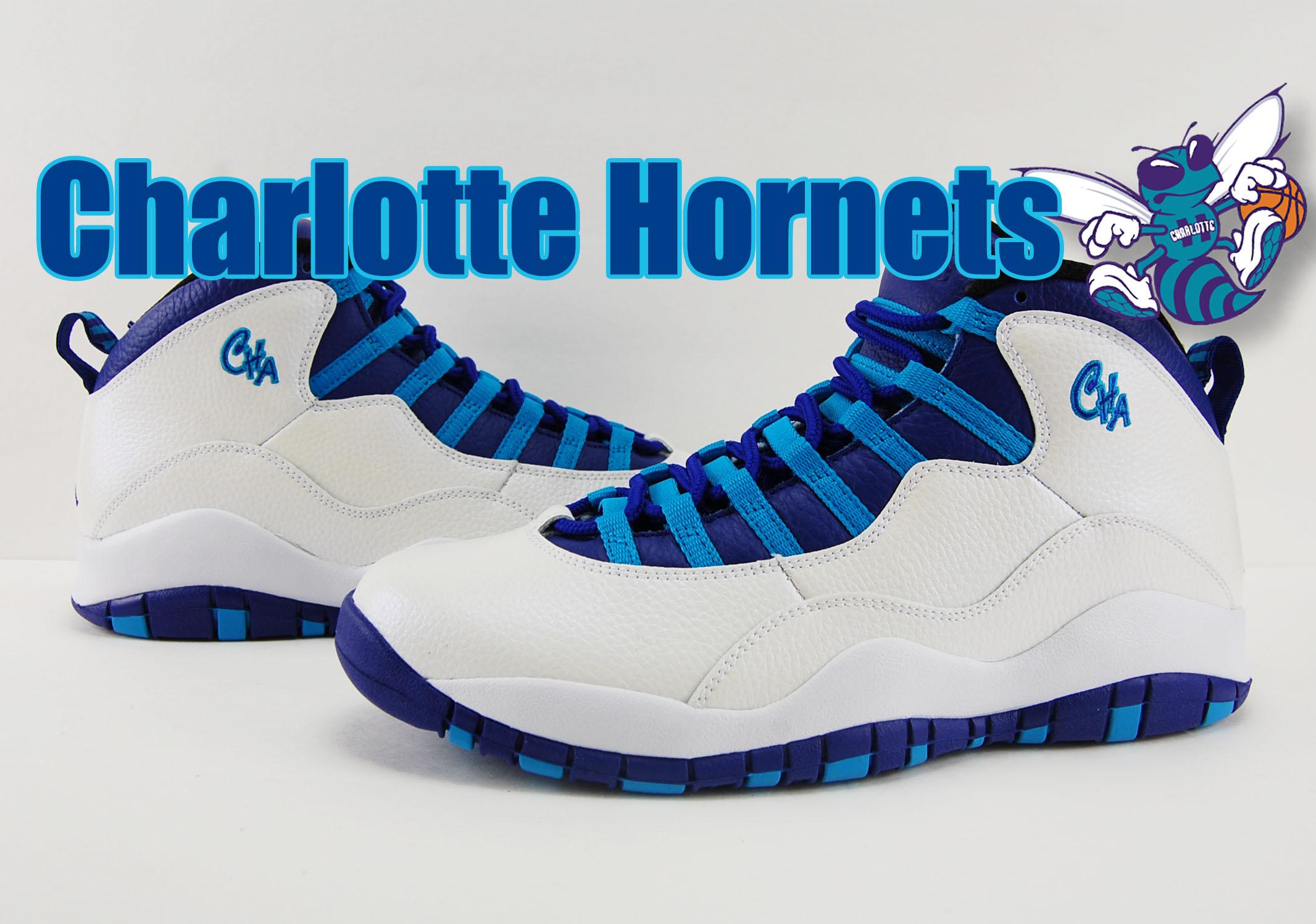 65c745bc074e lovely Air Jordan 10 Charlotte Hornets Releases Tomorrow ...