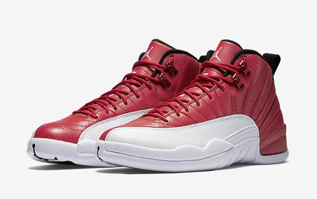 Air Jordan 12 Alternate Gym Red July 2016