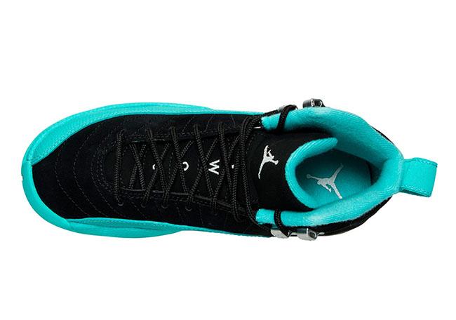 Air Jordan 12 GS Hyper Jade Black