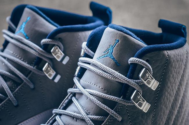 Air Jordan 12 UNC Wolf Grey University Blue