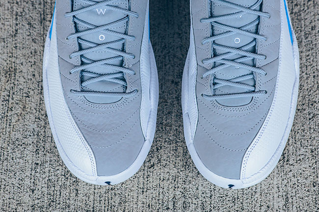 Air Jordan 12 UNC Wolf Grey University Blue