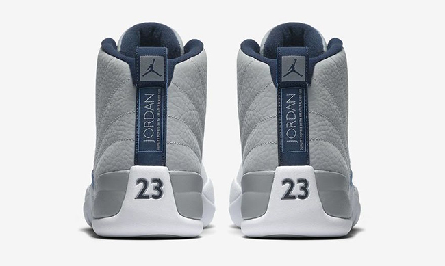 Air Jordan 12 Wolf Grey Blue