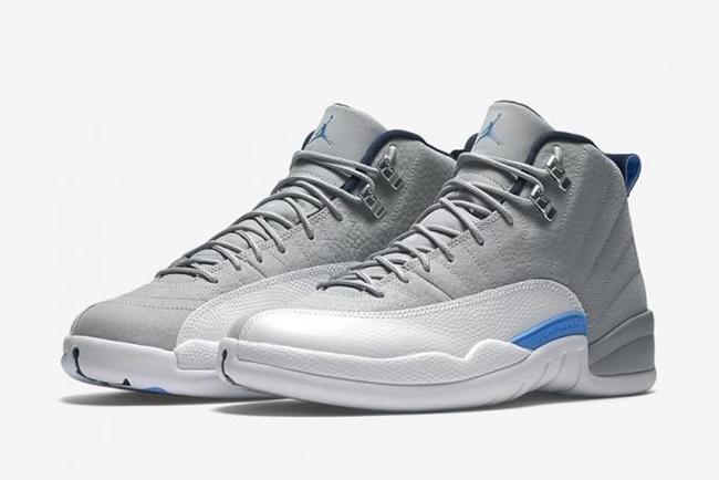 Air Jordan 12 Wolf Grey Blue