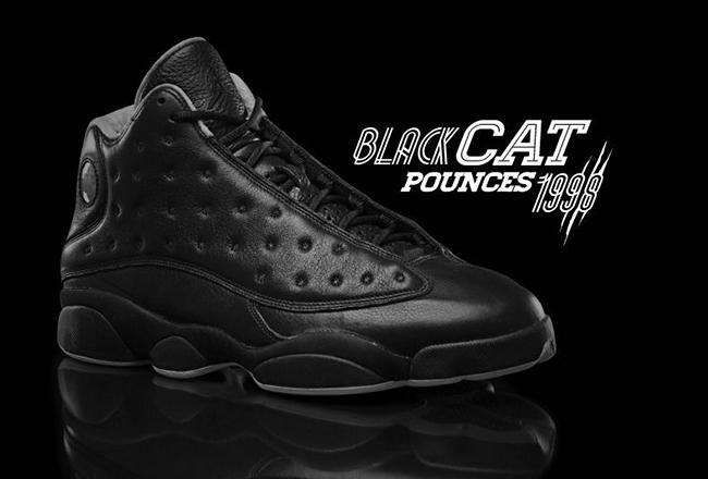 Air Jordan 13 Black Cat 2017