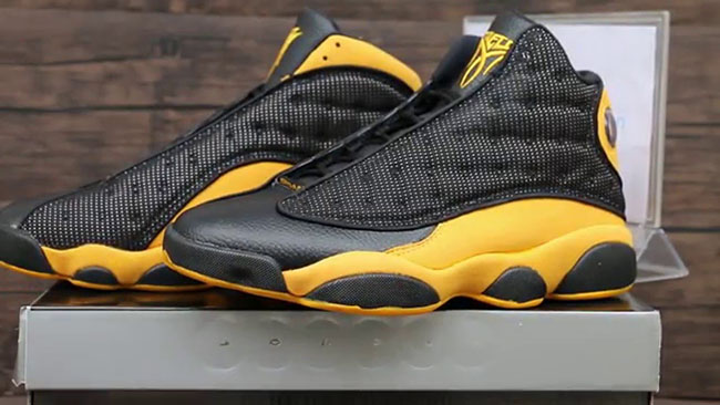 Air Jordan 13 Melo PE Black Yellow