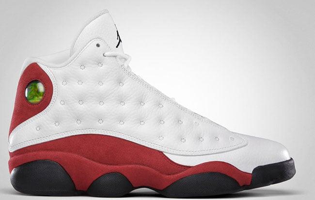 Air Jordan 13 White Red 2017