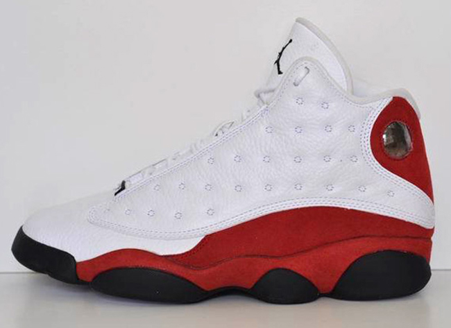 Air Jordan 13 Chicago White Red 2017 Release Info