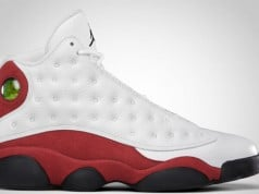 Air Jordan 13 White Red Black 2017