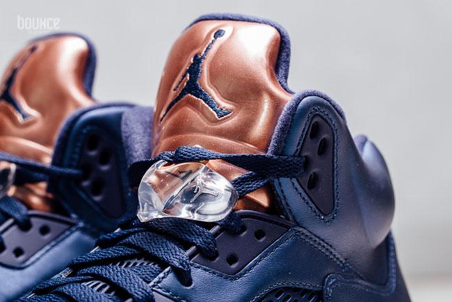 Air Jordan 5 Bronze Tongue Olympic
