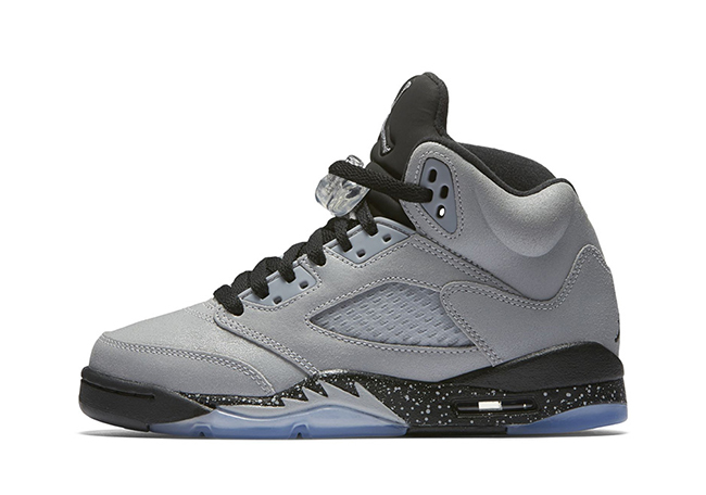 huge selection of 9f538 746f1 Air Jordan 5 GS Wolf Grey Black 2016