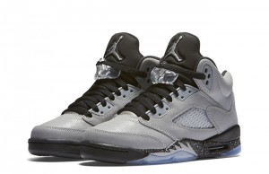 Air Jordan 5 GS Wolf Grey Black 2016
