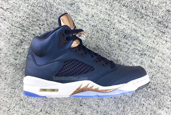 huge selection of 4ce8f 3dc47 Air Jordan 5 Obsidian Metallic Red Bronze