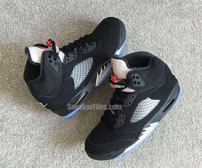 Air Jordan 5 OG Black Metallic Retro Nike Air