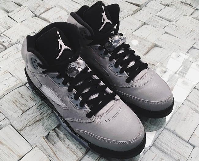 Air Jordan 5 Wolf Grey