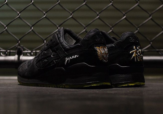 BEAMS Mita Asics Gel Lyte III Souvenir Jacket