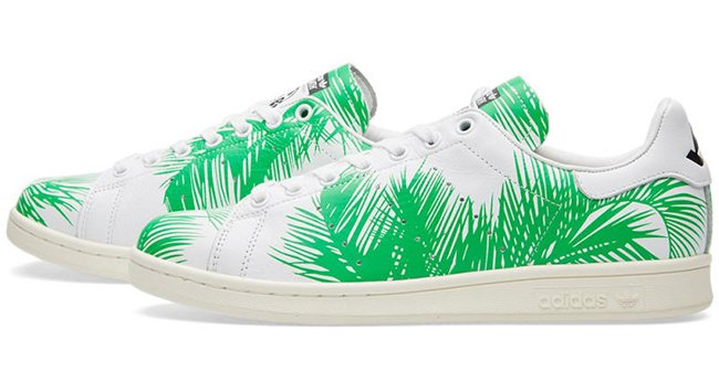 Billionaire Boys Club adidas Stan Smith Palm Tree Pack