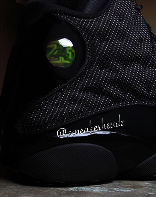 Black Cat Air Jordan 13 2017