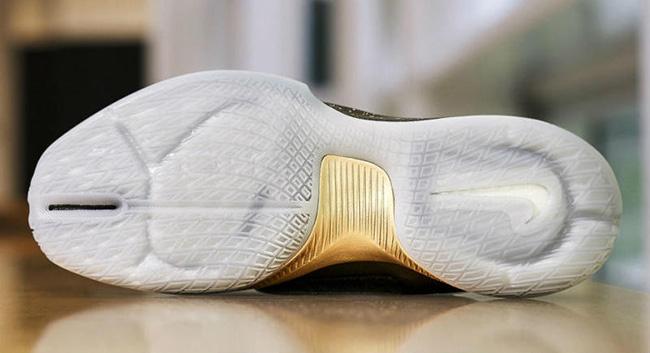 Draymond Green Nike Hyperrev 2016 Black Gold Finals PE