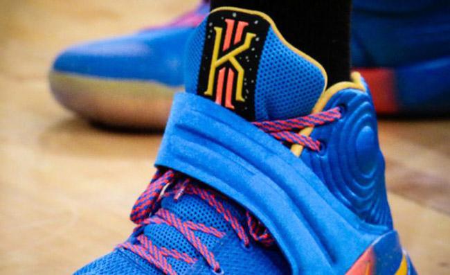 Elena Delle Donne Nike Kyrie 2 Chicago Sky PE