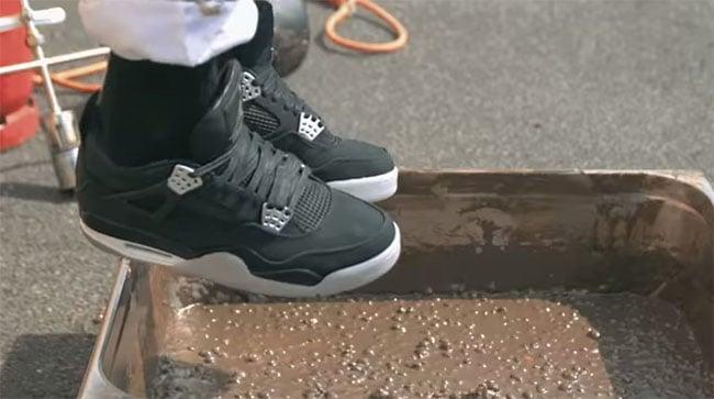 86e31e8d84f2 Eminem Air Jordan 4 Melted MMs