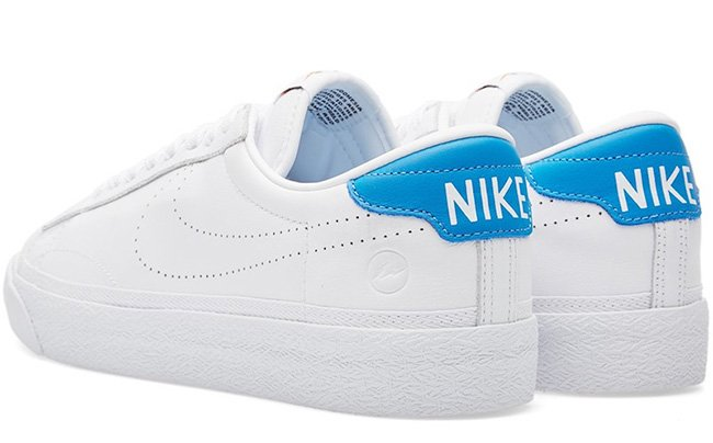 fragment design Nike Zoom Tennis Classic AC White Blue