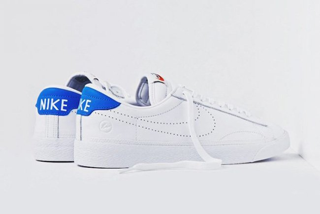 fragment design Nike Zoom Tennis Classic AC White Blue