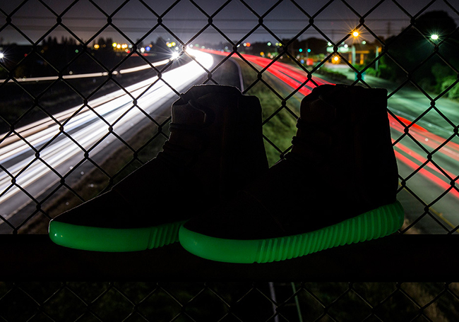 Glow in the Dark adidas Yeezy 750 Boost