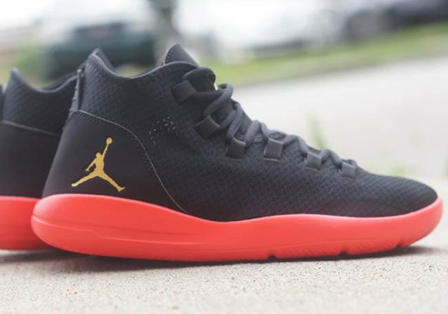 Jordan Reveal Infrared Black Gold
