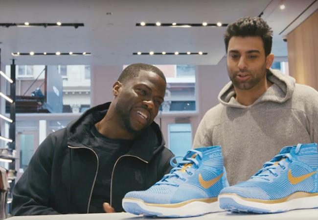Kevin Hart Sneaker Shopping
