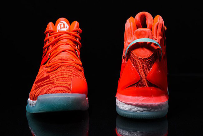 buy online 283b4 8c30a Knicks adidas D Rose 7 Boost